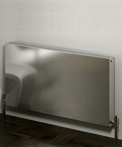 Alternate image of Reina Panox Satin Finish 1200 x 600mm Stainless Steel Radiator