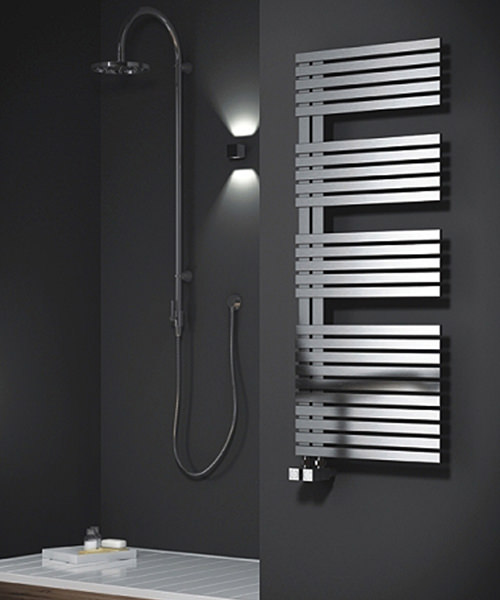 Alternate image of Reina Entice Satin Finish 500 x 770mm Stainless Steel Radiator