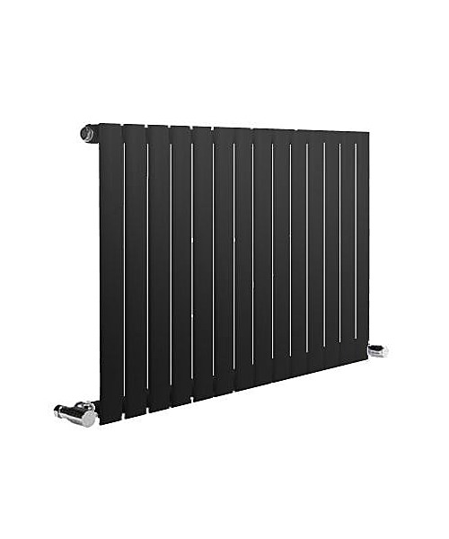 Alternate image of Reina Neva White 413 x 550mm Single Panel Horizontal Designer Radiator