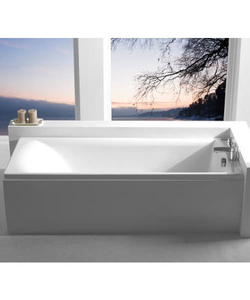 Additional image of Carron Axis 5mm Acrylic Single Ended Rectangular Bath 1500 x 700mm