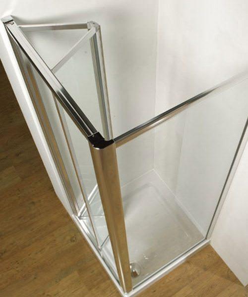 Additional image of Kudos Original Silver Frame Bi-Fold Door 900mm