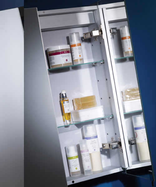Alternate image of Tavistock Move Single Mirror Door Aluminium Cabinet 482 x 700mm