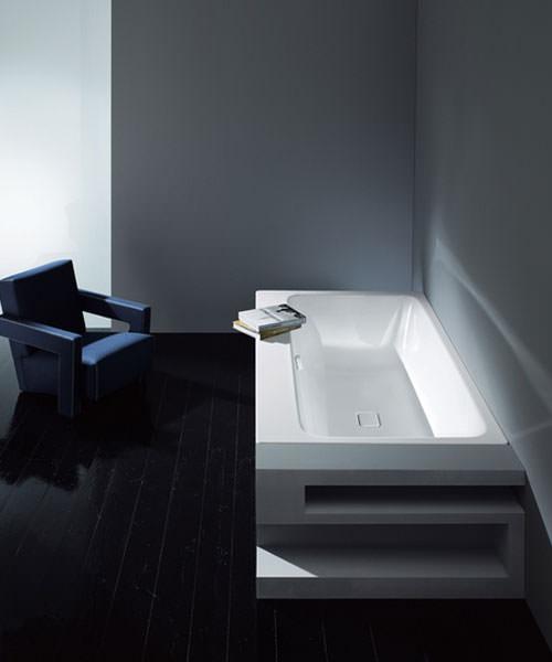 Additional image of Kaldewei Asymmetric Duo 742 Steel Enamelled Bath 1800 x 900mm