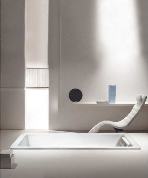 Additional image of Kaldewei Ambiente Puro 688 Steel Bath 1700 x 700mm With Side Overflow