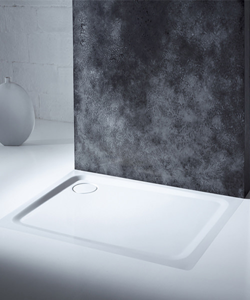 Additional image of Kaldewei Avantgarde Superplan Plus 700 x 1200mm Steel Shower Tray