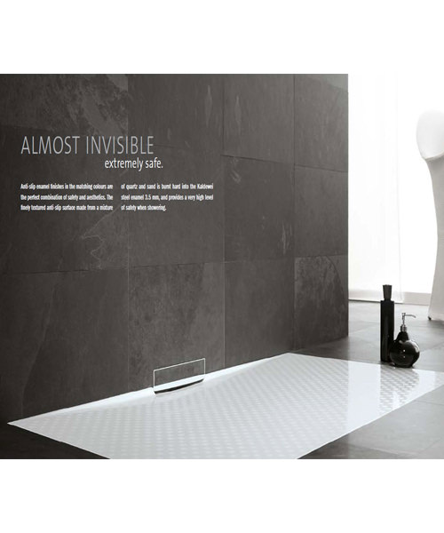 Alternate image of Kaldewei Avantgarde Xetis 892 Steel Shower Tray 1400 x 900mm