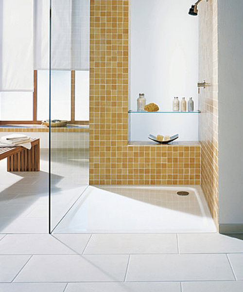 Additional image of Kaldewei Avantgarde Superplan 900 x 800mm Steel Shower Tray