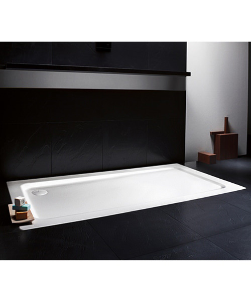 Additional image of Kaldewei Avantgarde Superplan XXL 1600 x 750mm Steel Shower Tray