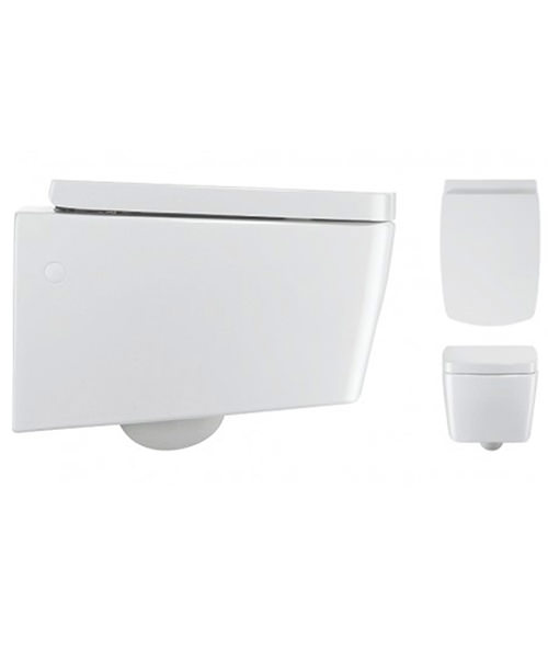 Alternate image of Bauhaus Touch White Cloakroom Suite