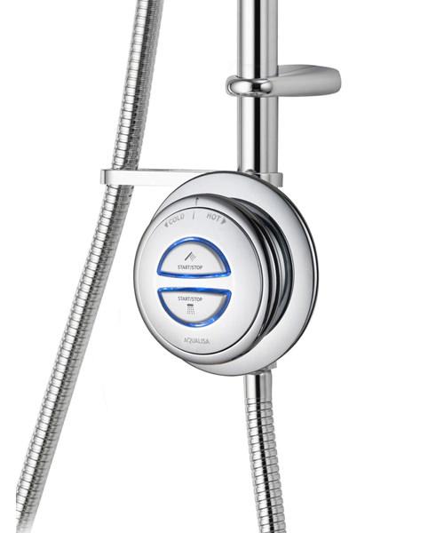 Alternate image of Aqualisa Quartz Exposed Digital Divert Shower And Bath Filler - HP Combi