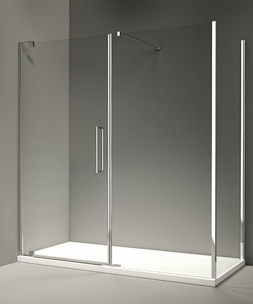 Additional image of Merlyn 10 Series Pivot Door And Inline Panel 1700mm