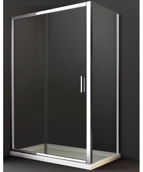 Additional image of Merlyn 8 Series Sliding Shower Door 1000mm