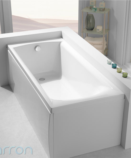 Additional image of Carron Sigma 5mm Acrylic Single Ended Rectangular Bath 1800 x 800mm