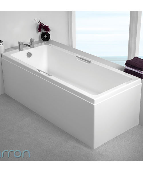Additional image of Carron Quantum Integra 5mm Acrylic 1700 x 700mm Single Ended Bath