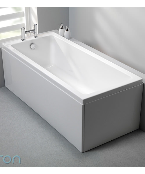 Additional image of Carron Quantum Single Ended 5mm Acrylic Bath 1800 x 725mm