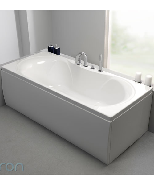 Additional image of Carron Arc Duo 5mm Acrylic Double Ended Bath 1800 x 800mm