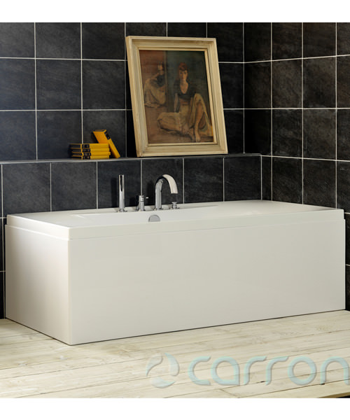 Additional image of Carron Equity 5mm Acrylic Double Ended Rectangular Bath 1700 x 750mm