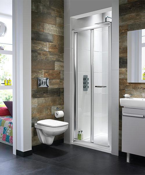 Alternate image of Twyford ES400 Bi-Fold Shower Enclosure Door 760mm