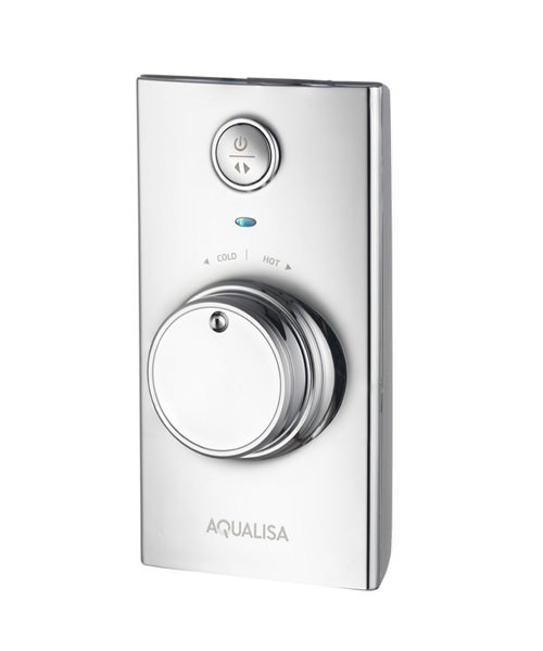 Additional image of Aqualisa Visage Digital Divert Concealed Shower With Fixed Head - HP Combi