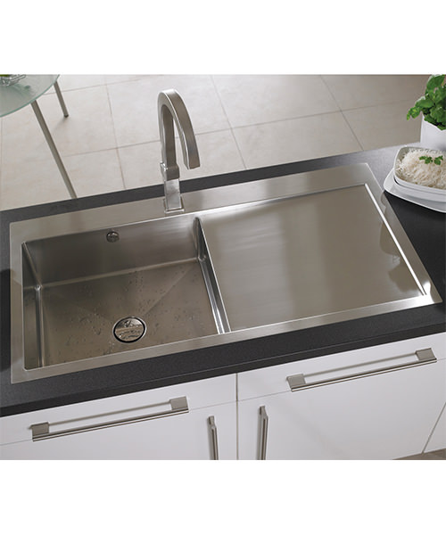Additional image of Astracast Vantage Stainless Steel Inset Sink And Accessory - 1.0 Bowl