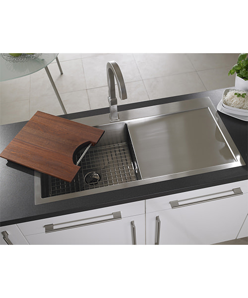 Alternate image of Astracast Vantage Stainless Steel Inset Sink And Accessory - 1.0 Bowl