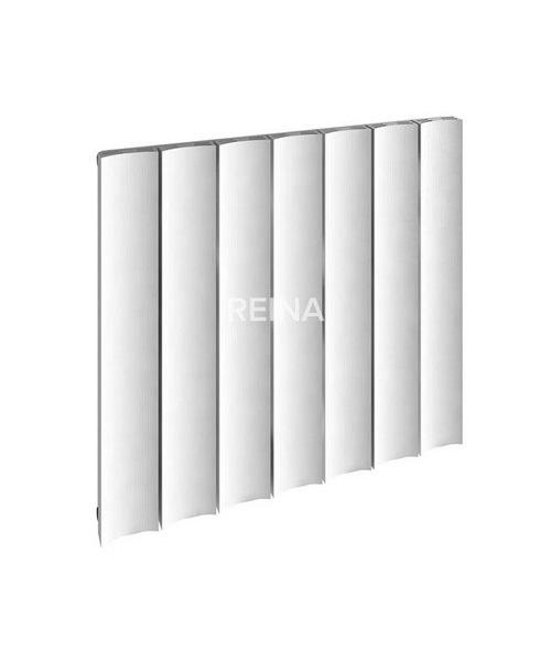 Alternate image of Reina Luca Horizontal Single Panel Aluminium Radiator 850 x 600mm