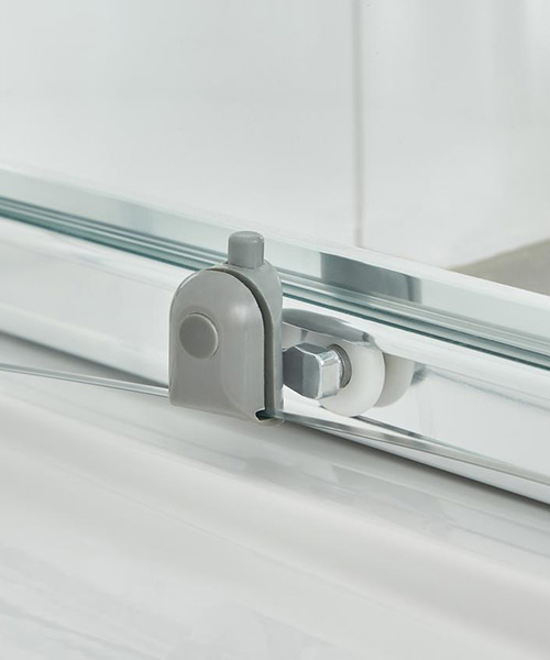 Additional image of Nuie Premier Ella 1200 x 1850mm Single Sliding Shower Door
