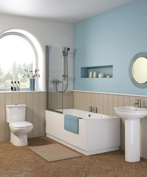 Nuie Premier Otley Round Double Ended Acrylic Bath