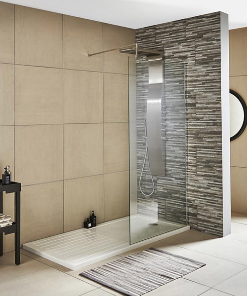 Lauren Wetroom Walk-In 900 x 1850mm Shower Panel