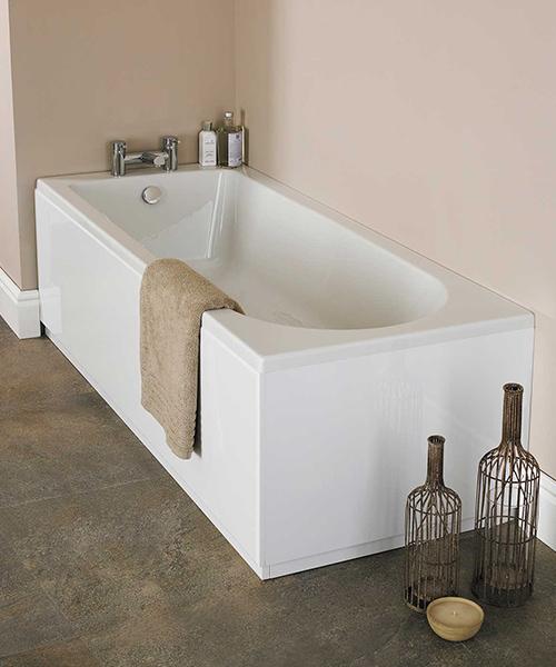 Nuie Premier Barmby Single Ended Acrylic Bathtub