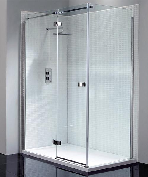 April Prestige Frameless 700mm Side Panel For Shower Enclosure