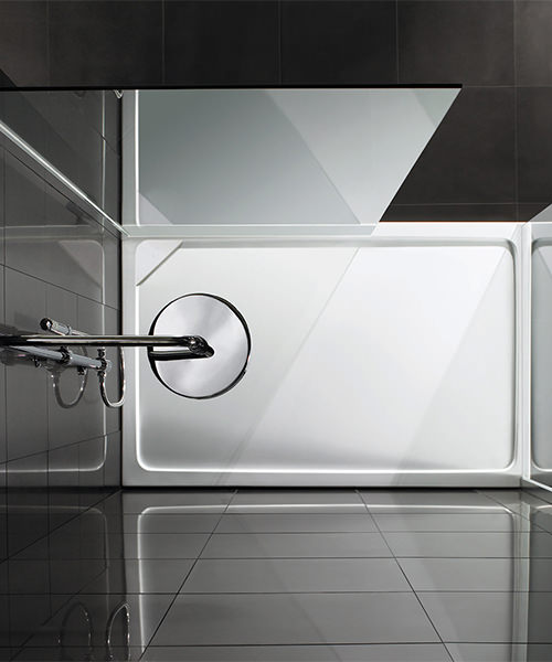 Additional image of Aquadart Rectangular 1100 x 760mm Shower Tray