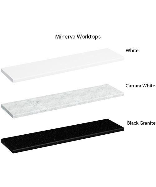 Alternate image of Burlington Freestanding 100cm Curved Corner Vanity Unit Right Hand