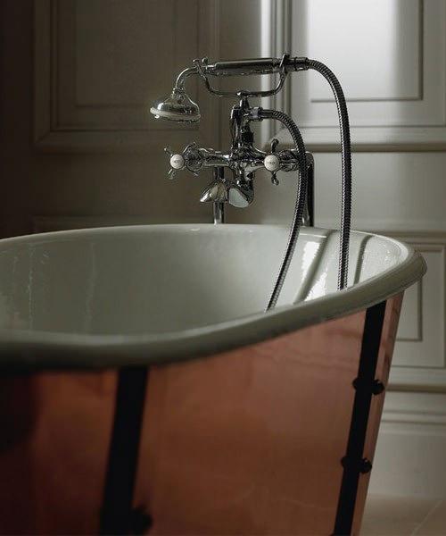 Additional image of Imperial Baglioni Cobra Cast Iron Luxury Bath 1700mm x 725mm