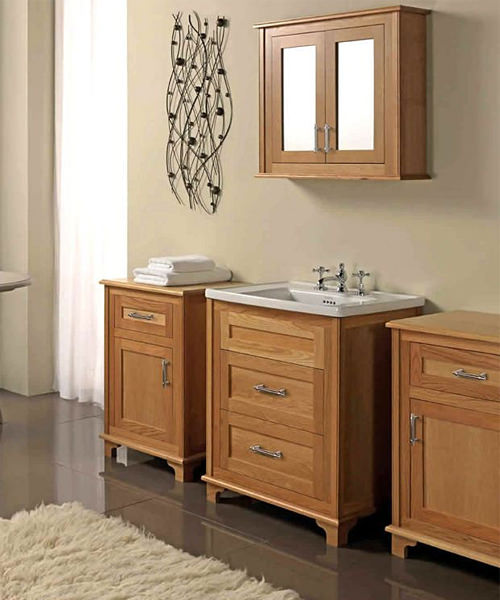 Additional image of Imperial Thurlestone 2 Door Wall Cabinet With Mirrors 730 x 600mm