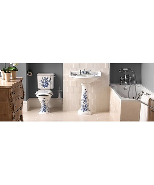 Additional image of Imperial Oxford WC Pan And High Level Cistern 765mm White