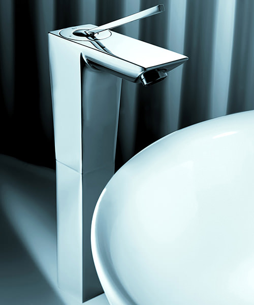 Additional image of Roca Touch Extended Basin Mixer Tap With Pop Up Waste