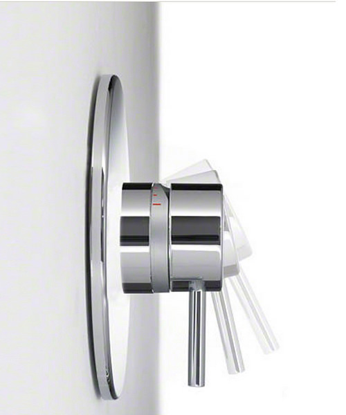 Alternate image of Mira Element SLT BIV Built In Valve Thermostatic Mixer Shower Chrome