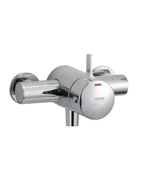 Additional image of Mira Select EV Exposed Valve Thermostatic Mixer Shower Chrome