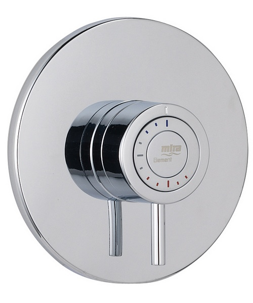 Additional image of Mira Element BIV Built In Valve Thermostatic Mixer Shower