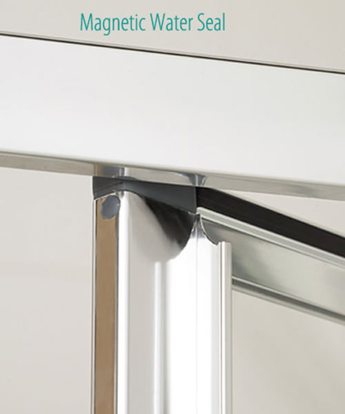 Alternate image of Lakes Classic Framed Bi-Fold Door 700 x 1850mm Silver