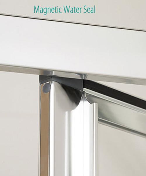Alternate image of Lakes Classic Framed Bi-Fold Door 800 x 1850mm Silver