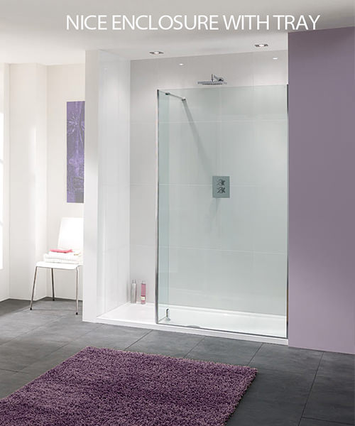 Additional image of Lakes Coastline Nice Walk In Shower Panel 1200mm x 2000mm
