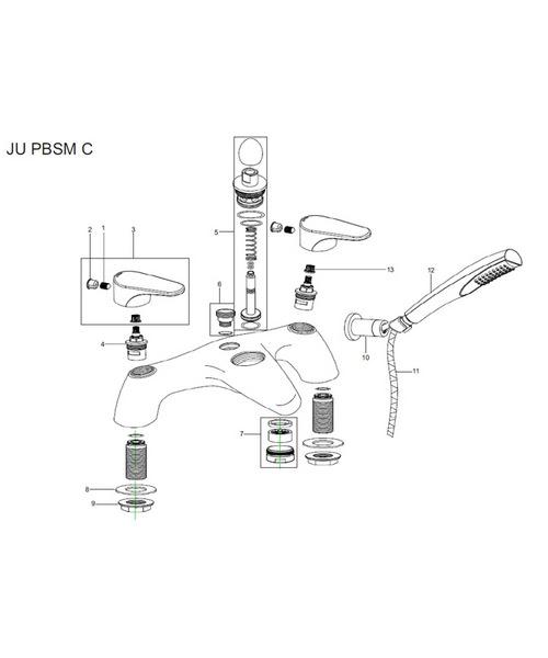 Additional image of Bristan  JU PBSM C