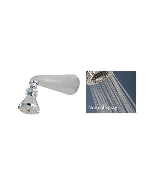 Alternate image of Tre Mercati No 7 Shower Kit Small Standard Shower Head With Arm