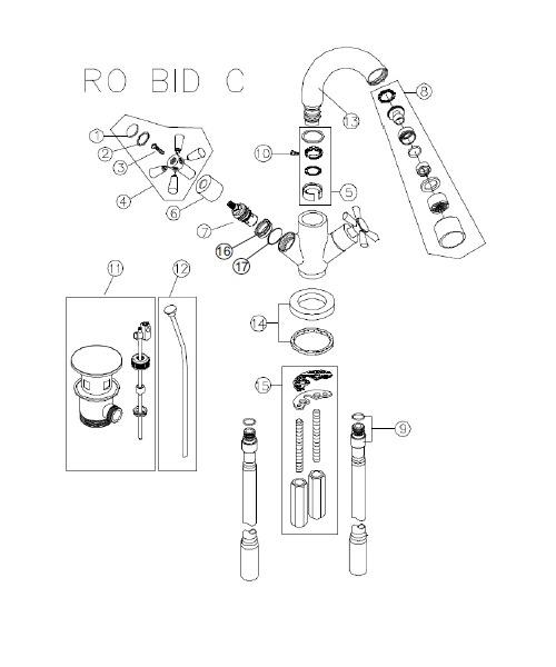 Additional image of Bristan  RO BID C