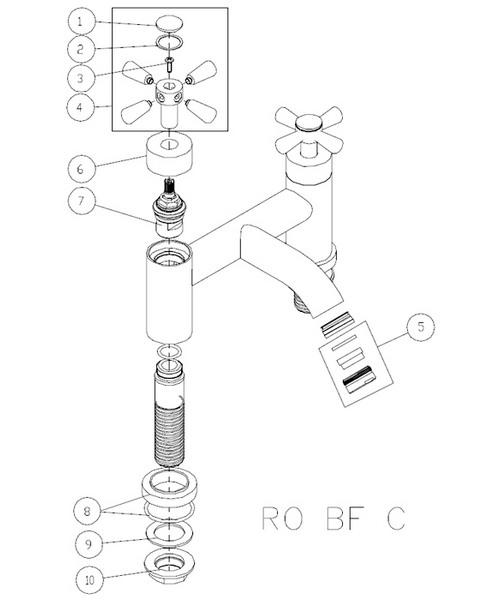Additional image of Bristan  RO BF C