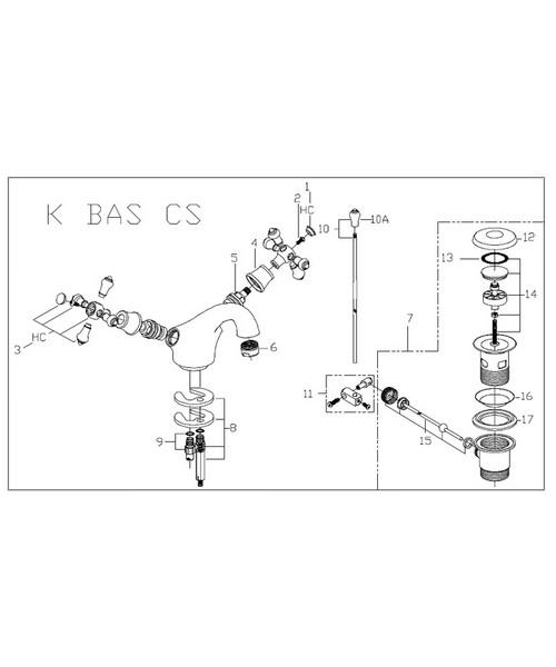 Additional image of Bristan  K BAS G