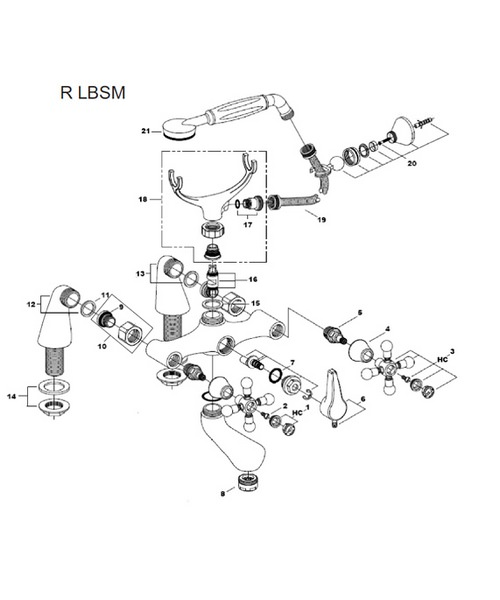 Additional image of Bristan  R LBSM G