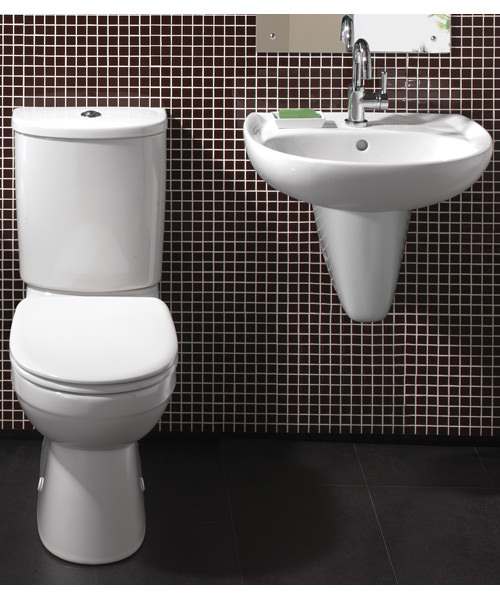 Additional image of Twyford Galerie White Cloakroom Suite